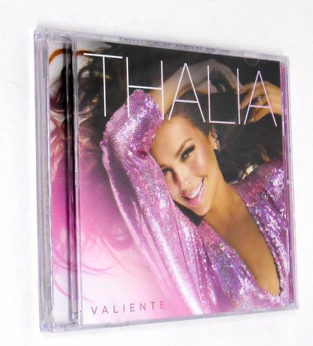 cd thalia valiente 2018 sony u.s. latin lacrado +bonus track