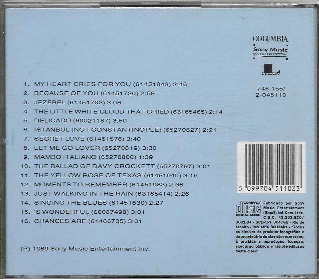 Cd - The 1950s - Volume 1 - 16 Most Requested Songs