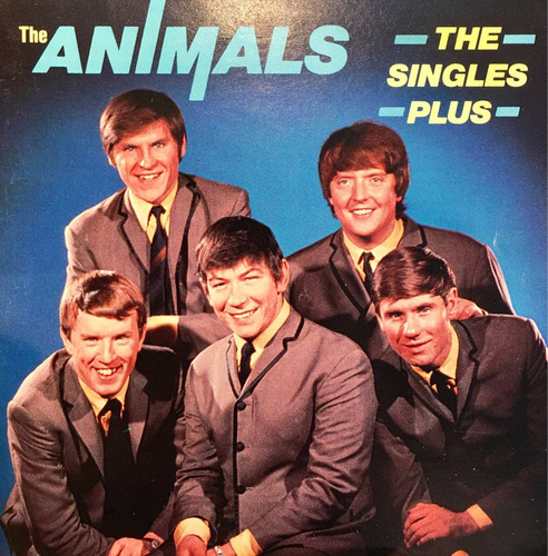 cd the animals the singles plus