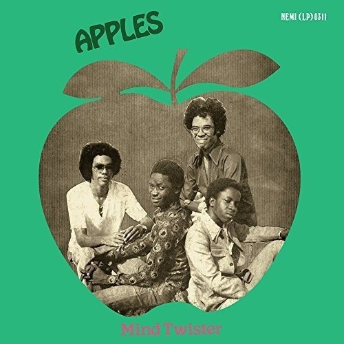 cd : the apples - mind twister (with booklet, digipack p...