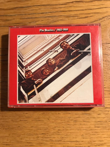 cd the beatles - 1962-1966 (duplo)