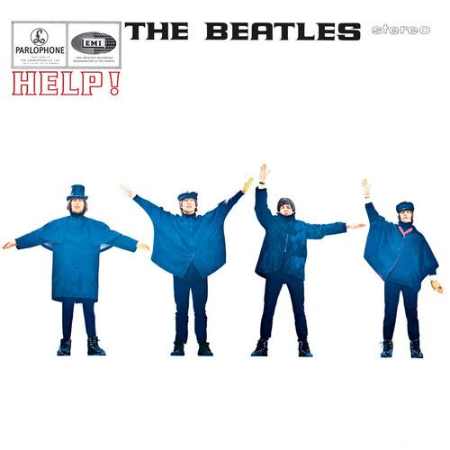 cd the beatles - help!  edición usa