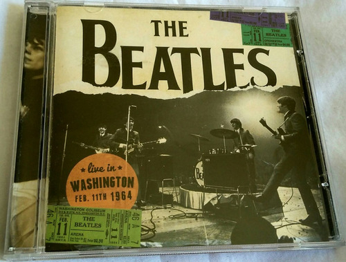 cd the beatles line in washington 1964