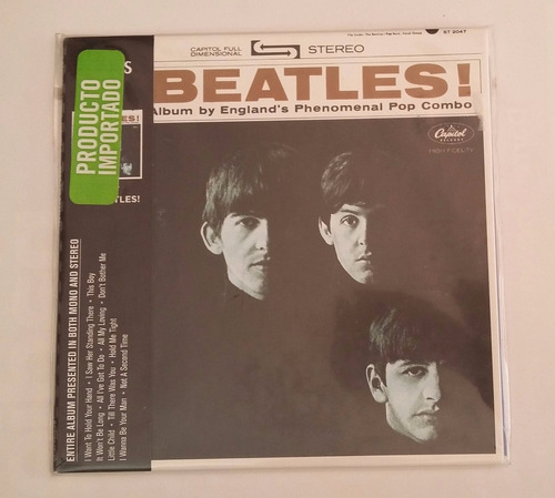 cd the beatles meet the beatles importado nuevo