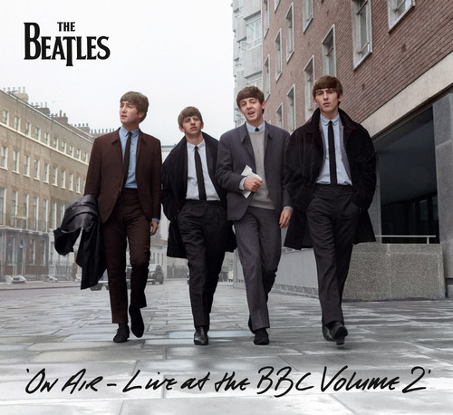 cd the beatles on air live at the bbc volume 2
