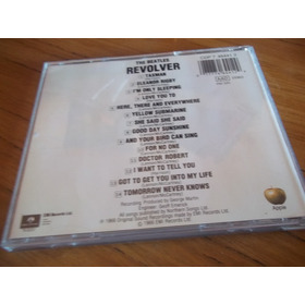 Cd The Beatles Revolver Sello Parlophone