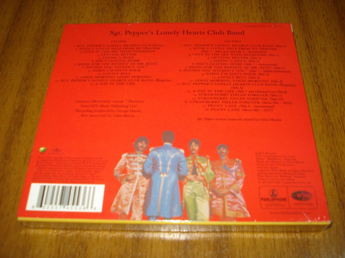cd the beatles / sgt peppers aniv.(nuevo y sellado) 2 cds eu