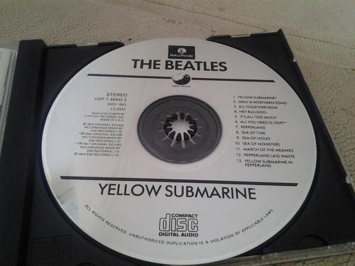 cd the beatles - yellow submarine.  usa