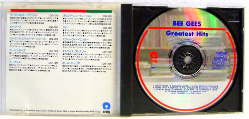 cd - the bee gees - greatest hits