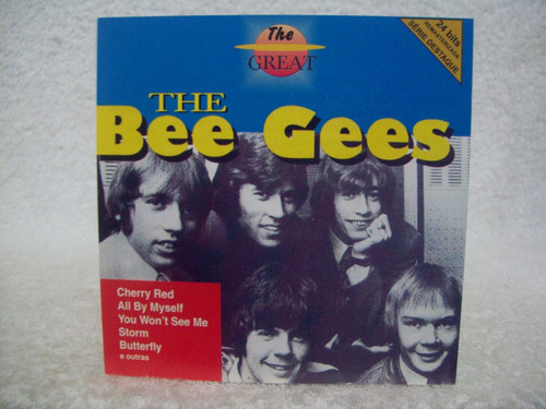 cd the bee gees- the great
