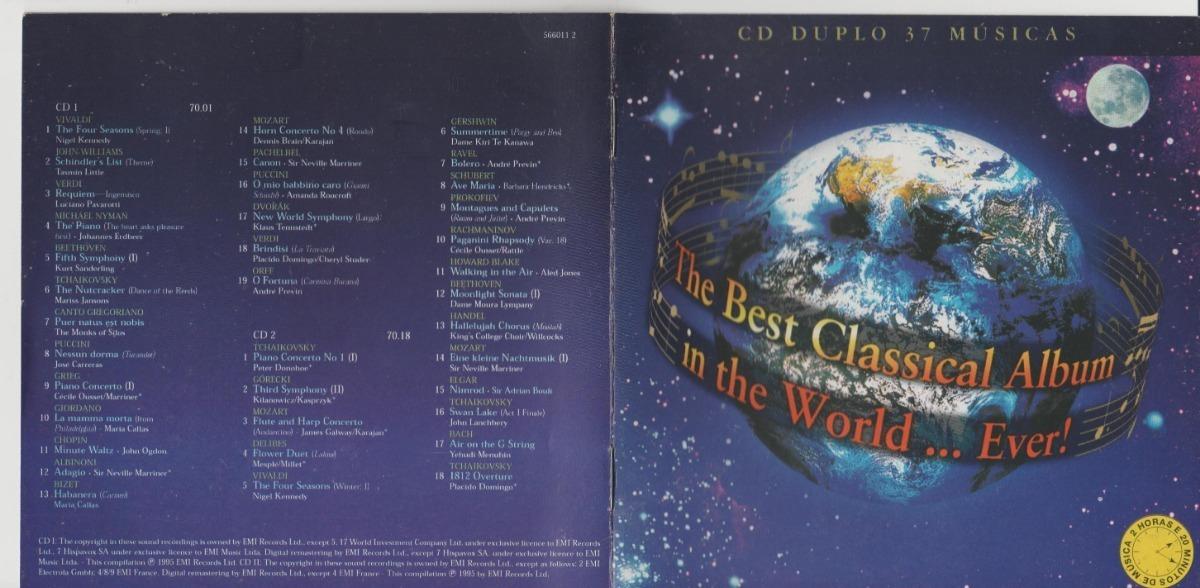 Cd The Best Classical Album In The World Ever Original Duplo