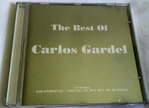 cd the best of carlos gardel