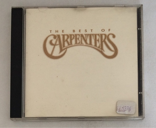 cd the best of carpenters  (hbs)