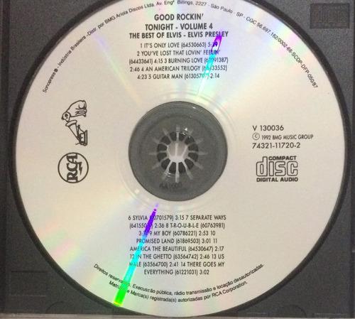 cd the best of elvis vol.4 (hbs)