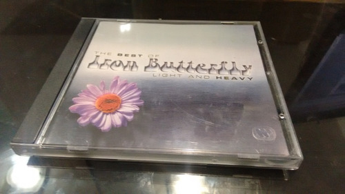 cd the best of iron butterfly importado en formato cd