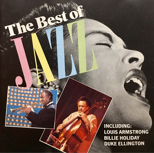 cd the best of jazz armstrong holiday ellington importado