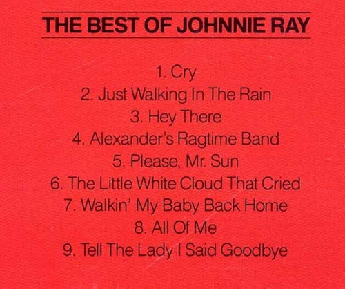 cd the best of johnnie ray