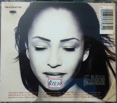cd - the best of sade