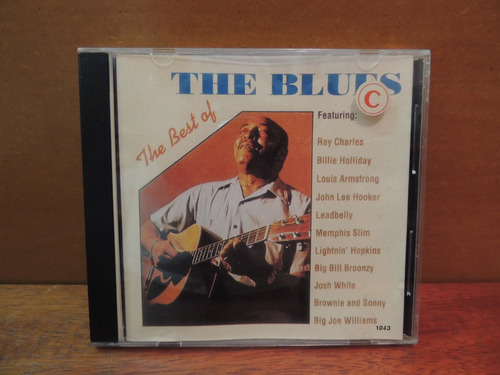 cd the best of the blues ray charles louis armstrong