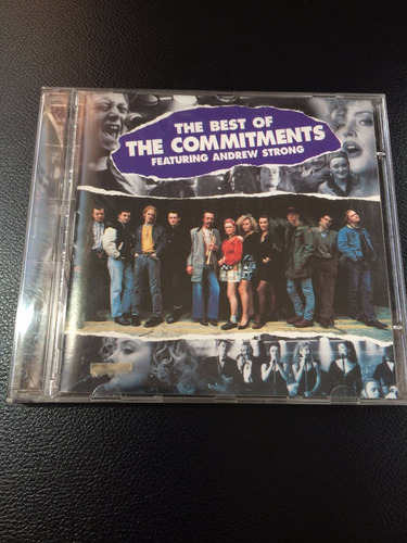 cd the best of the commitments - featuring andrew strong