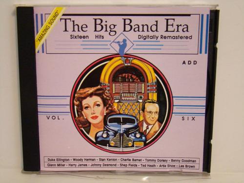 cd - the big band era - vol. six (importado)