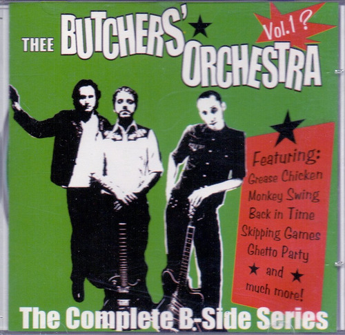 cd the butchers orchestra - the complete b-sides series vol1