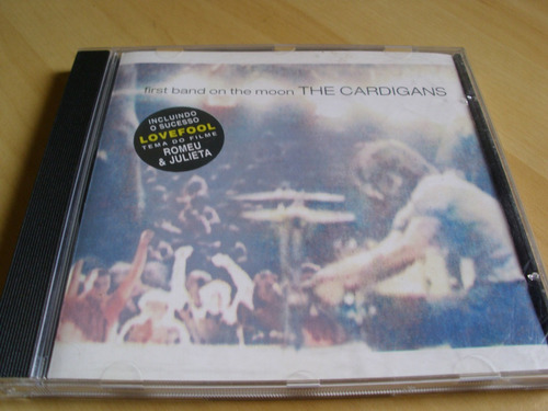 cd the cardigans - first band  on the moon