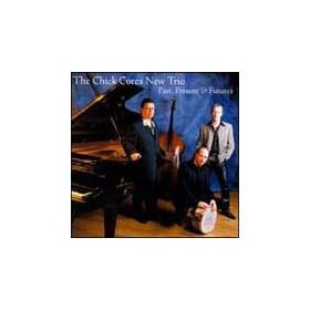 Cd The Chick Corea New Trio Past,present E Futures Importado