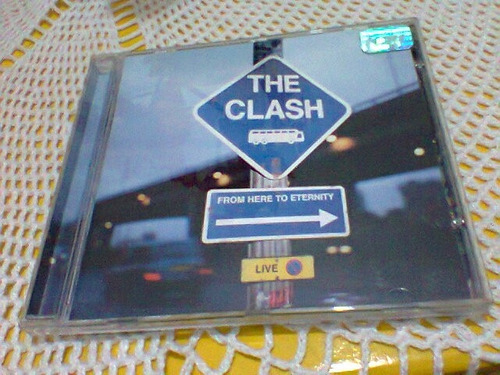 cd the clash  / from here to eternity  -1999- (frete grátis)