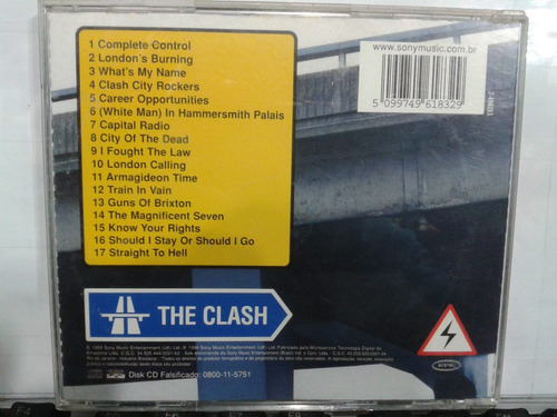cd - the clash - from here to eternity live