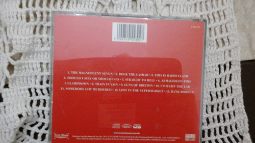 cd - the clash - the history of the clash- vol 1