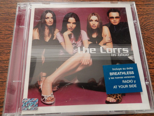 cd - the corrs - in blue
