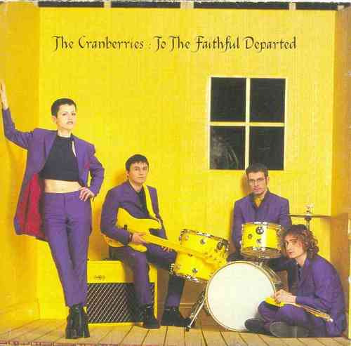 cd the cranberries - to the faithful departed s/encarte tras