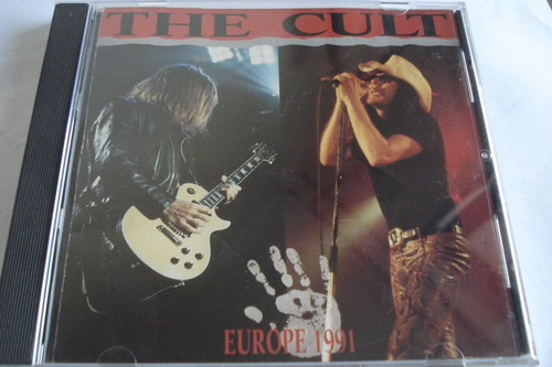 cd the cult live europe 1991