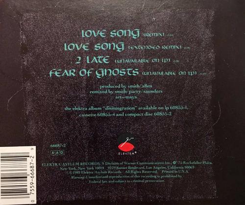 cd the cure love song importado
