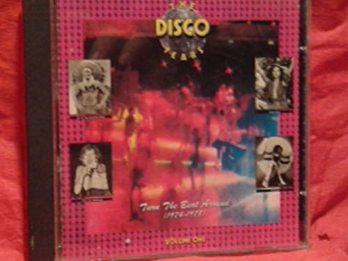 cd the disco years vol. 1 1974-1978 discoteque -mdd