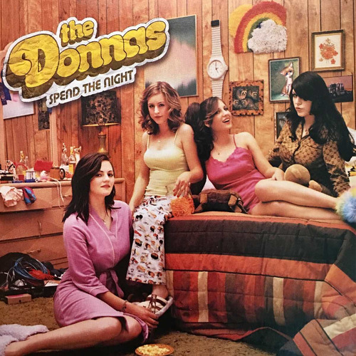 cd the donnas spend the night