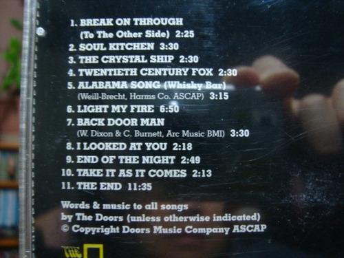 cd the doors em bom estado arte som