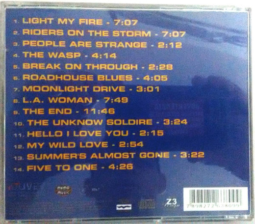 cd the doors greats hits coletânea melhores raro original
