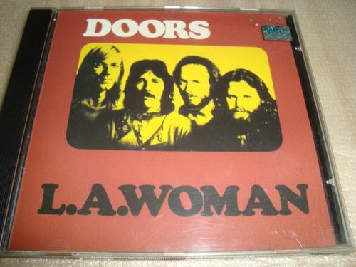cd the doors  l.a.woman  arte som