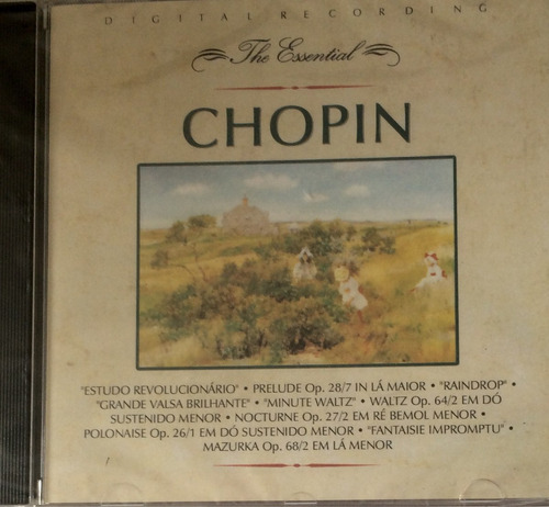 cd the essential chopin (hbs)
