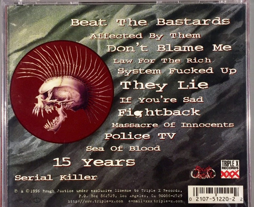 cd the exploited - beat the bastards - importado lacrado