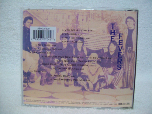 cd the fevers- meus momentos