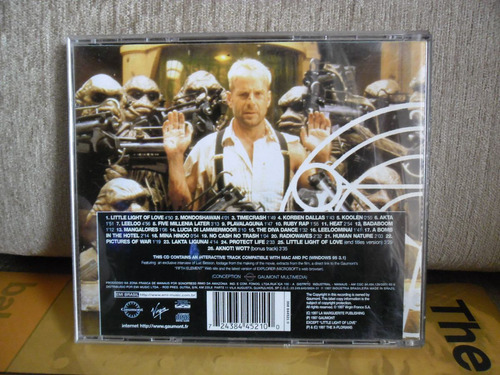cd the fifith element  soundtrack
