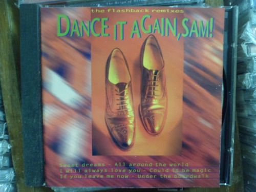 cd the flashback remixes - dance it again, sam! frete 10,00