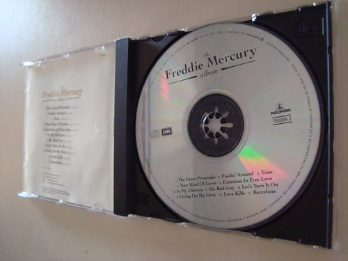 cd / the freddie mercury / album