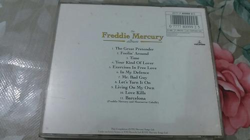 cd the freddie mercury album original importado