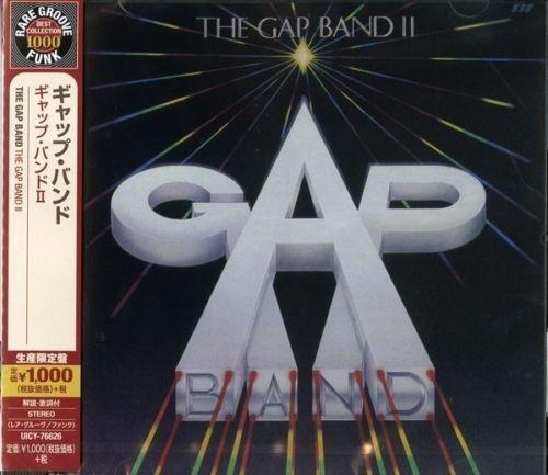 cd the gap band - the gap band ii (edição japonesa remaster