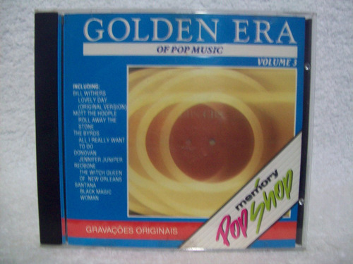 cd the golden era of pop music- volume 3