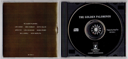 cd - the golden palominos - pure - 1994 - eletronic